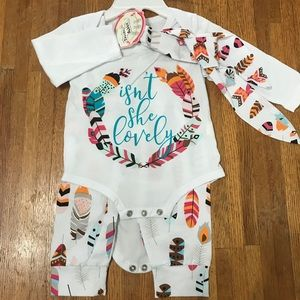 Other - NWT, Isn't She Lovely matching set